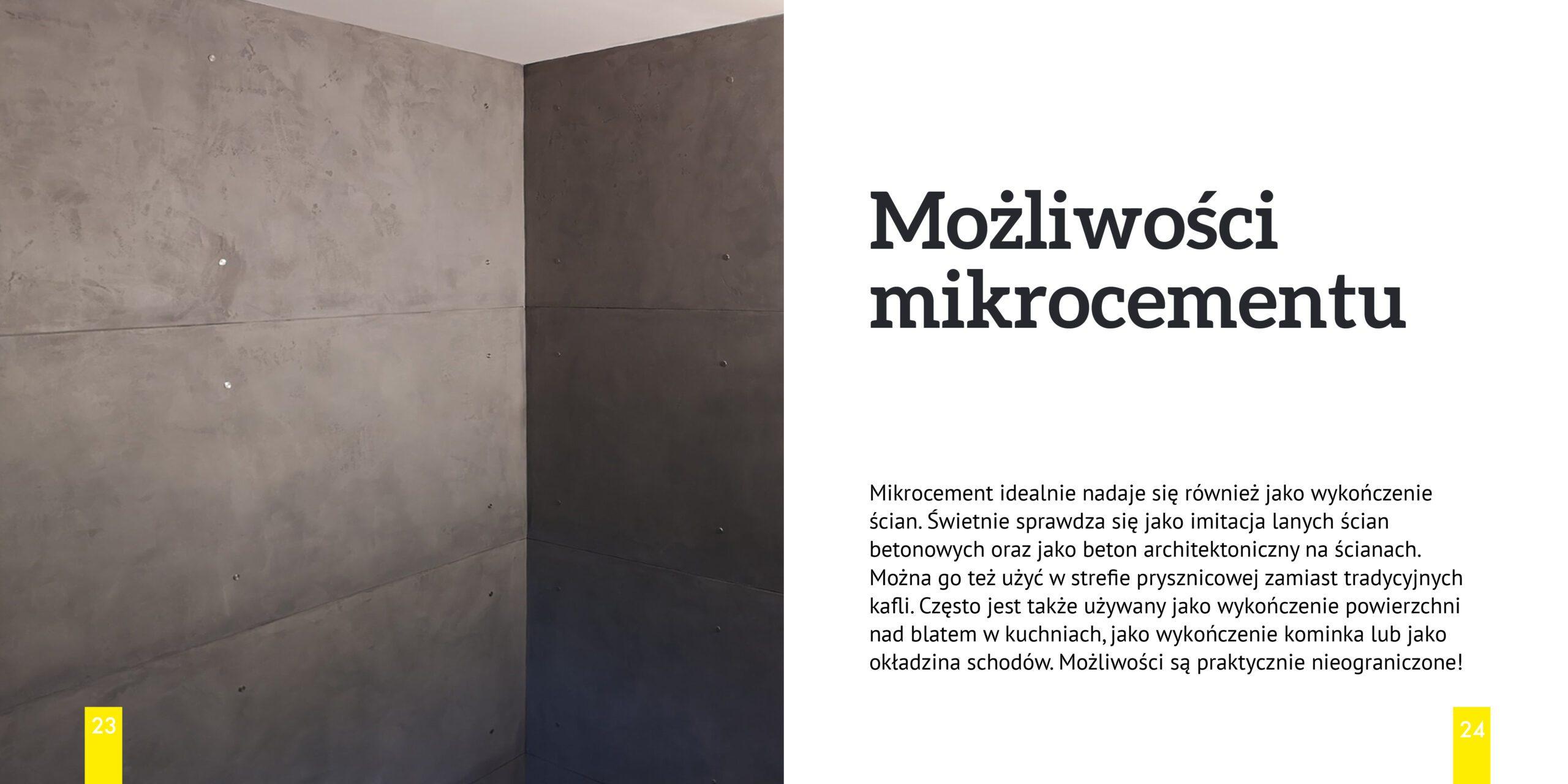 beton a mikrocement